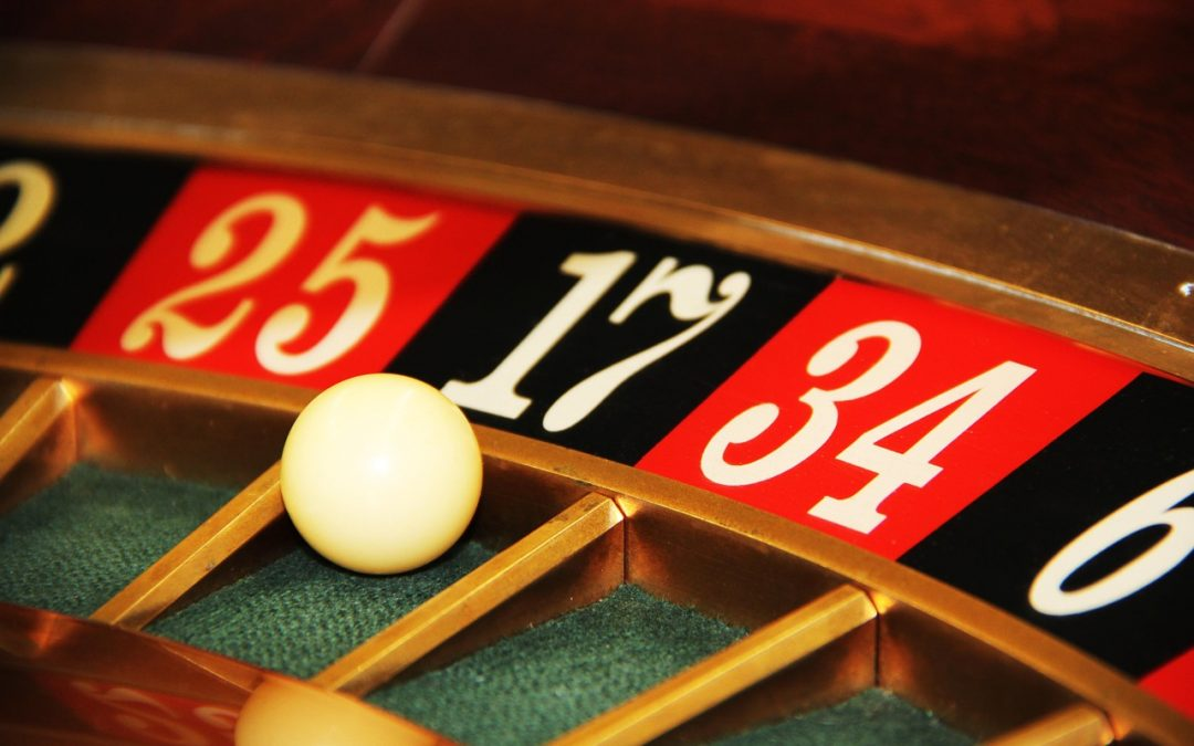 The probability of online gambling and brick-and-mortar casinos